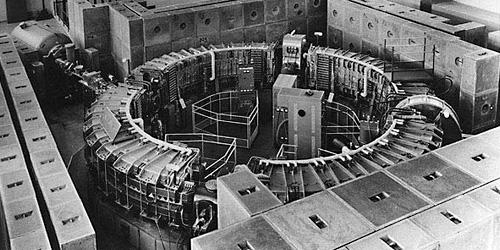 Sincrotrone AdA - LAb. Frascati 1960