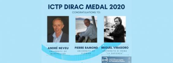 Dirac Medal 2020